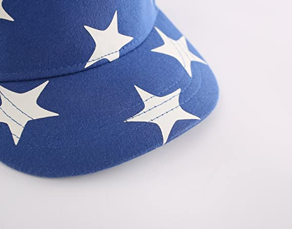 c5d087d1 Amazon.com: Home Prefer Kids Toddler Boy Baseball Hat Cute Stars Cotton  Hats for Boys: Clothing