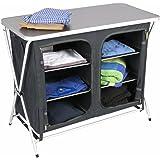 Kampa Zara Extra Fast Set-up Camping Storage Cupboard / Larder / Kitchen