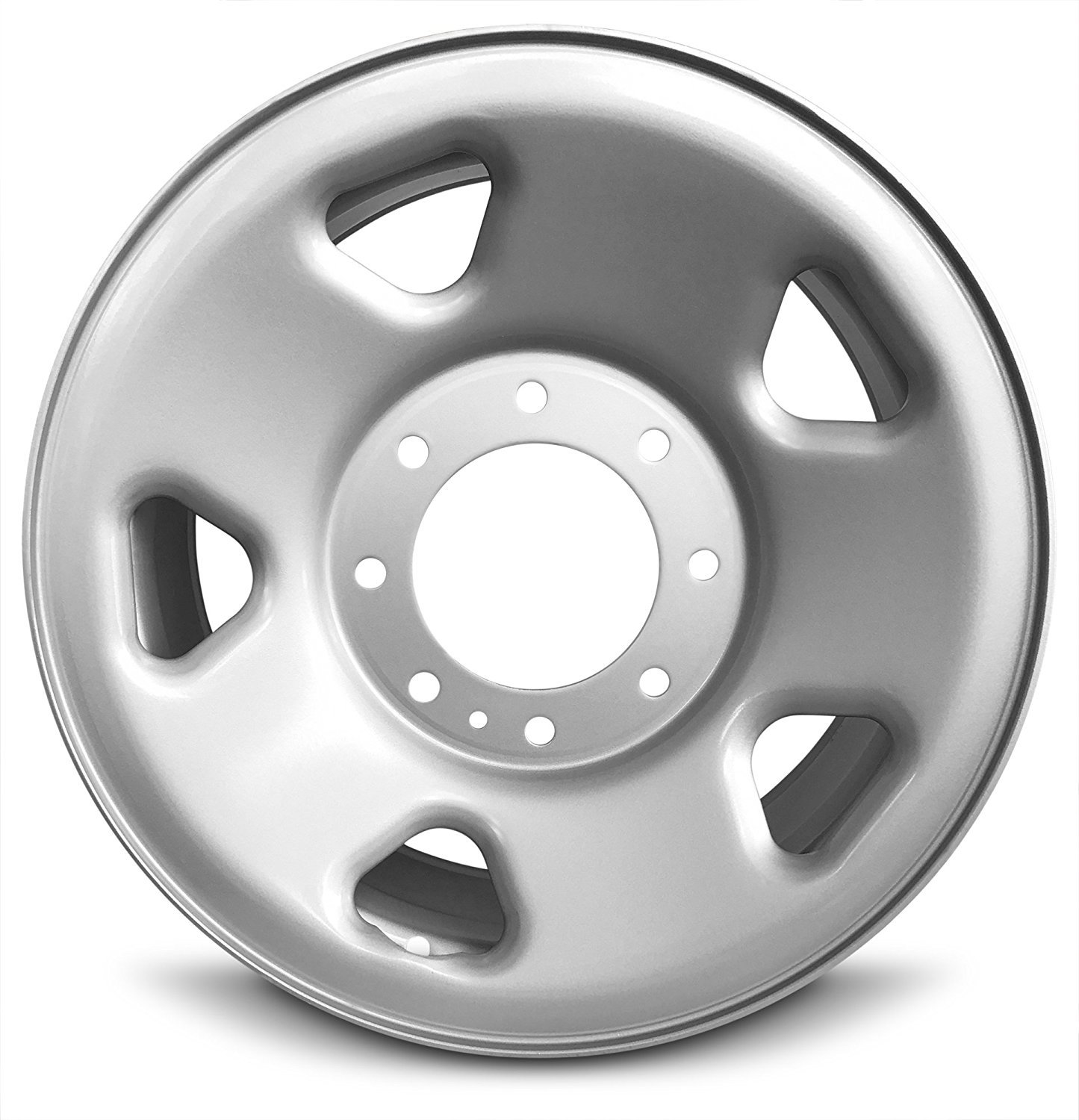 Road Ready Car Wheel For 08-18 Dodge Ram 4500 Ram 5500 19.5 Inch 10 Lug Steel Rim Fits R19.5 Tire Exact OEM Replacement Full-Size Spare