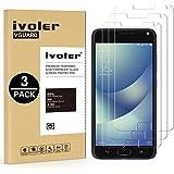 iVoler [3 Pack] Pellicola Vetro Temperato ASUS Zenfone 4 Max ZC520KL 5.2 [Protezione Antigraffi] **Anti-riflesso Ultra-Clear** Ultra Resistente in Pellicola ASUS Zenfone 4 Max ZC520KL 5.2''