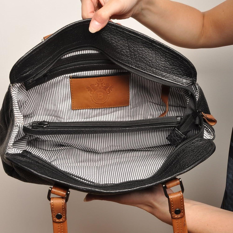 berba Chamonix 404 - Cross over bag in black