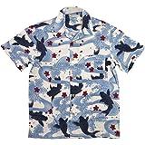 (スタイルド バイ オリジナルズ)Styled by Originals 大鯉流水 舞桜 半袖 和柄 レーヨン100% アロハシャツ