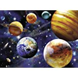 Ravensburger Space 100 Piece Jigsaw Puzzle for Kids – Every Piece is Unique, Pieces Fit Together Perfectly