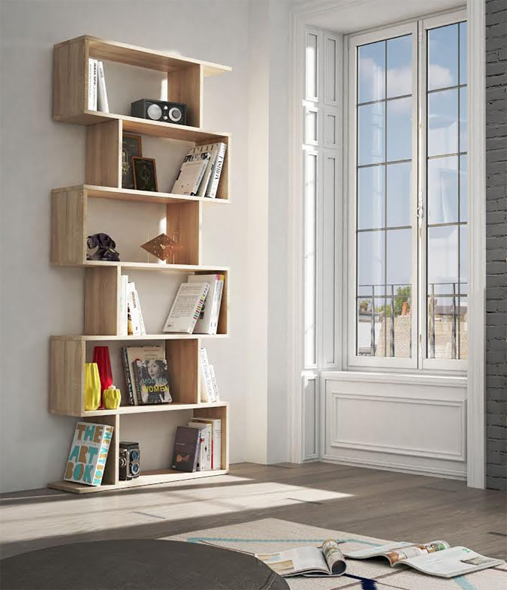 Estanterias separadoras de ambientes estanteras de madera en blanco with estanterias - Estanterias separadoras de ambientes ...
