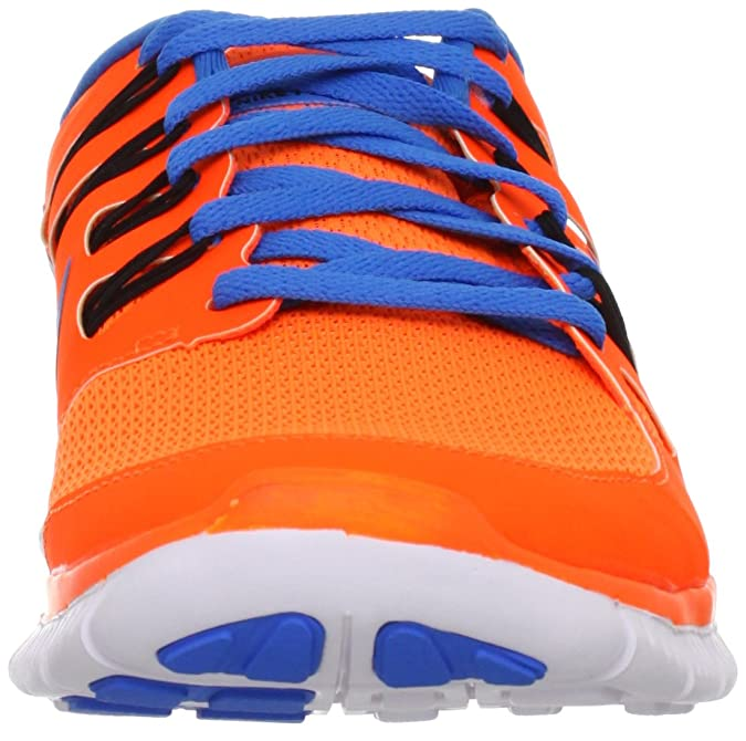 Nike Herren Free 5.0+ Breathe Running Total OrangeBlue Hero