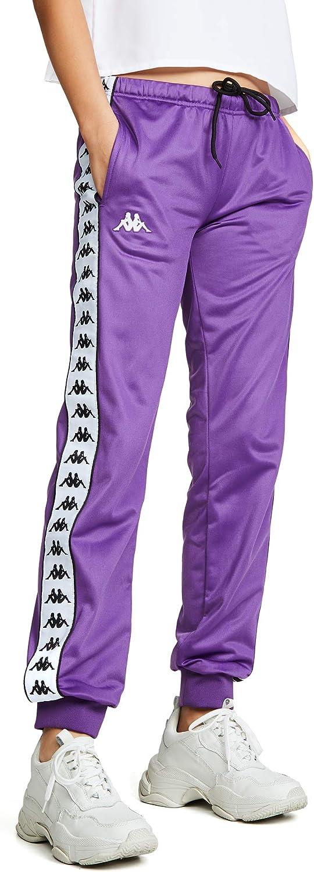 Kappa Banda Wrastoria - Pantalones de chándal para Mujer - Morado ...