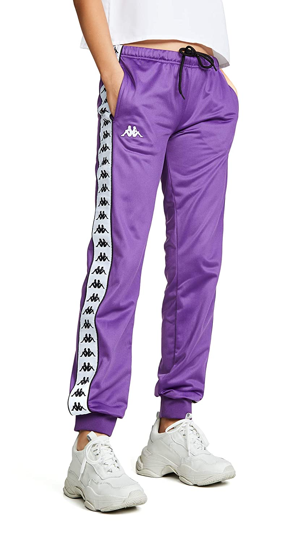 e6784d1c7a Amazon.com: Kappa Women's Banda Wrastoria Slim Sweatpants: Clothing