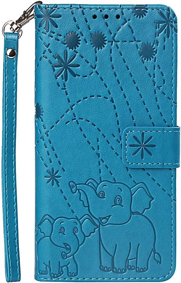 LOYBO470686 Purple Shockproof Flip Case Cover for Xiaomi Redmi Note5 Pro Lomogo Leather Wallet Case for Xiaomi Redmi Note 5 Pro with Stand Feature Card Holder Magnetic Closure