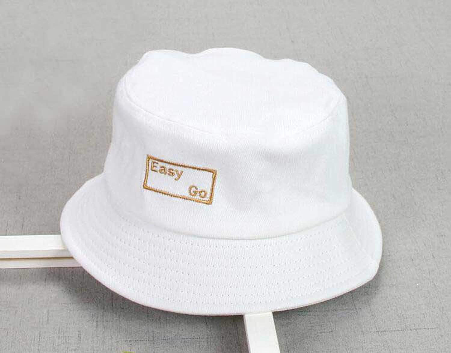 XINBONG Child Unisex Dome Hat Cotton Fisherman Outdoor Embroidery Spring Beach Hat Boys Girls Kids Summer Child Cap