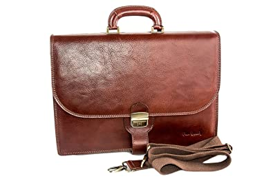 Image Unavailable. Image not available for. Colour  Folder bag man PIERRE  CARDIN office bag professional of real leather H142 7d181eaf7966d