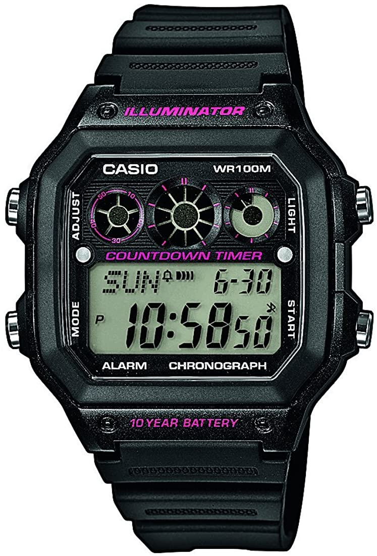 Watch Casio Collection Ae-1300wh-1a2vef Men´s Black