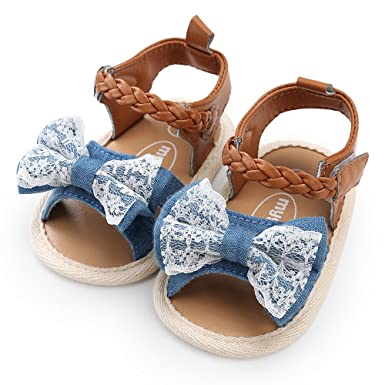 Brown Fringe Gladiators Moccasins Sandals GAP Baby Girl Size 6-12 Months Gold