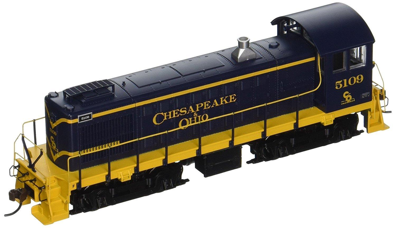 Bachmann Industries ALCO S4 DCC C & O #5109 Sound Value Equipped Locomotive (HO Scale) [並行輸入品] B074V9Z6JN