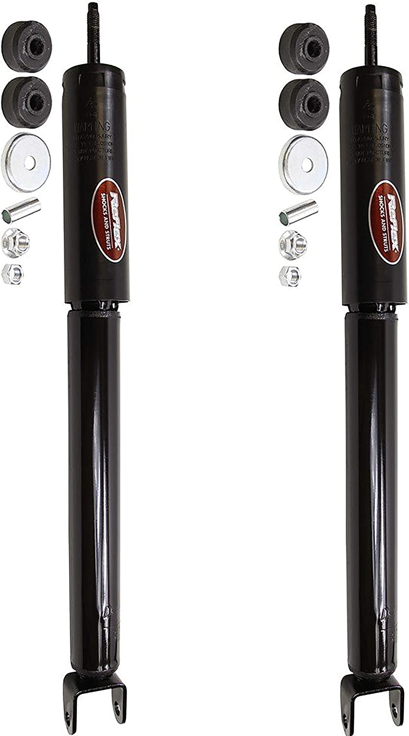 Pair Set of 2 Rear Monroe Shock Absorbers For Ford Explorer 11-17 w//o Police Pkg