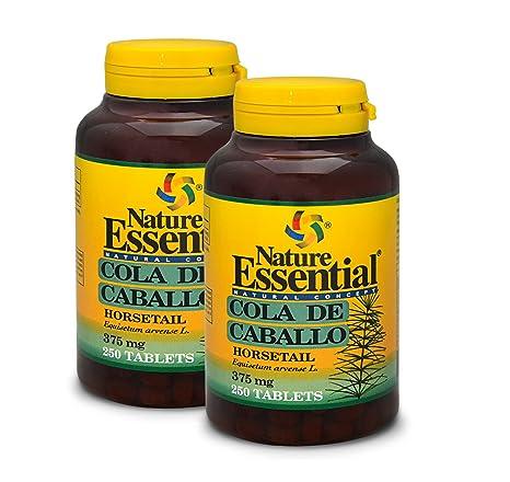 Cola de Caballo 375 mg de Nature Essential - 250 Comprimidos. (2 Unidades)