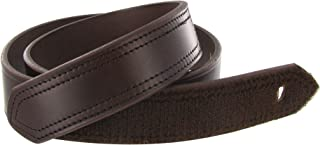 product image for Boston Leather 1-1/4 Garrison Leather Belt (Brown)