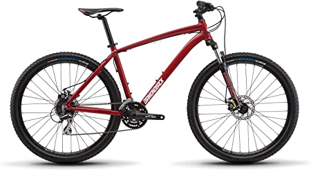 side facing overdrive hartdail mountain bike