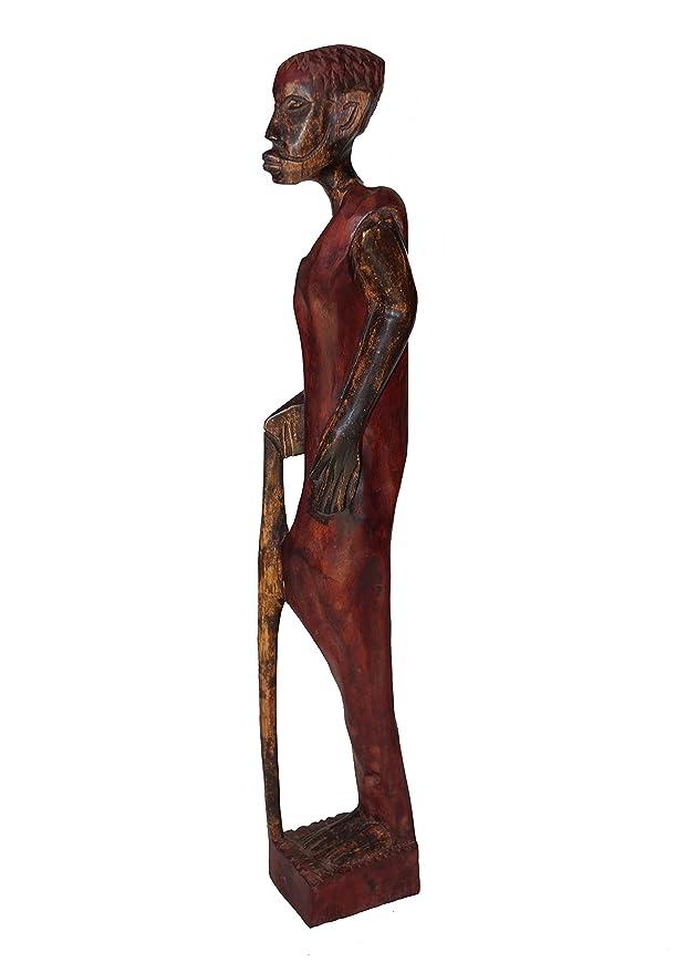 Amikazzo África Man Figura, Ghana África Figura, África Deko ...