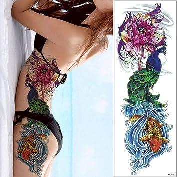 Tatuaje de brazo completo de manga grande Boceto León Tigre ...