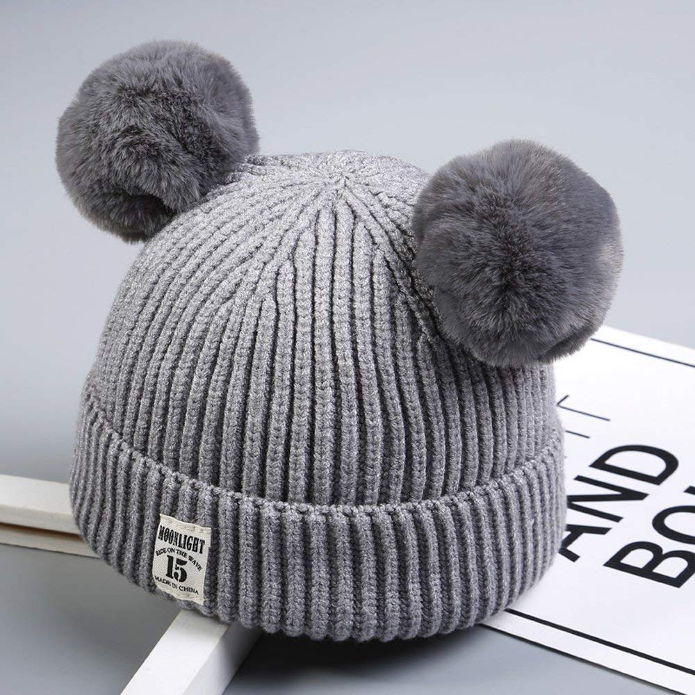 Boqiao Infant Toddler Baby Unisex Cotton Soft Cute Lovely Newborn Kids Winter Hat Beanies Caps Baby Beanie For Boys Girls