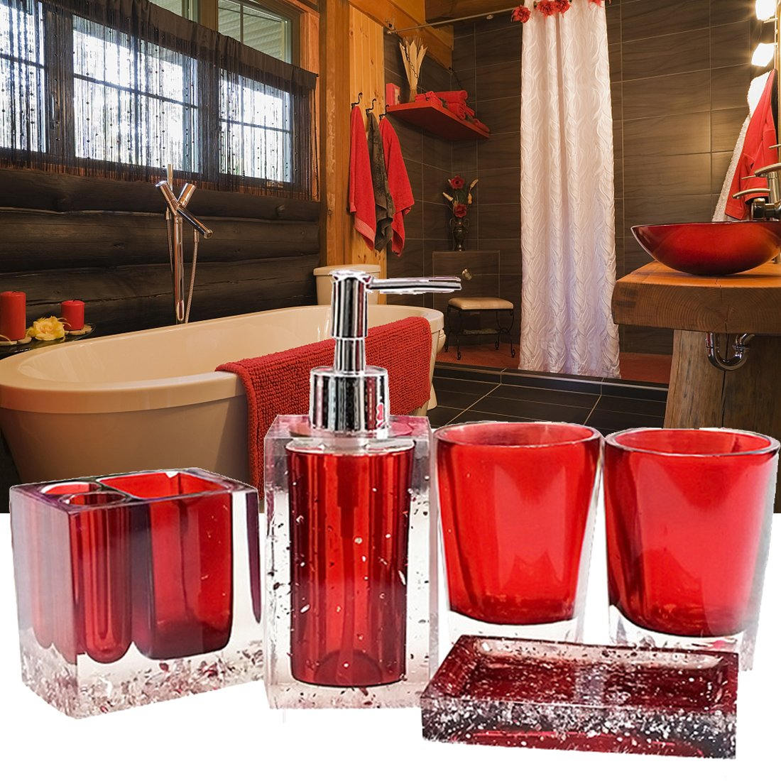 Luxurious Bathroom Accessory Sets