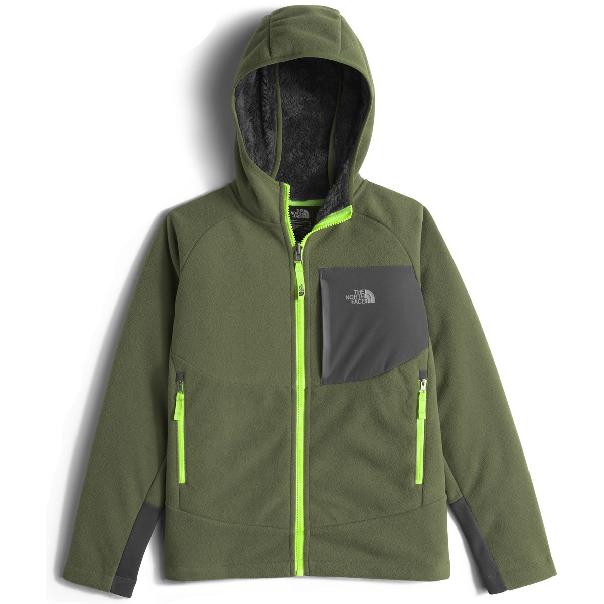 The North Face Chimborazo Kids Hoodie - X-Large/Terrarium Green by The North Face