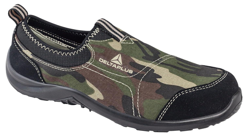 Delta Plus Panoply Miami S1P Negro lona en acero para zapatillas de seguridad Zapatillas: Amazon.es: Bricolaje y herramientas