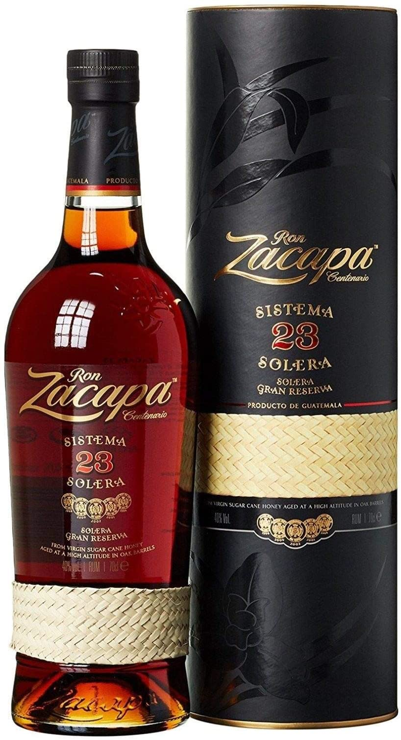 Zacapa centenario 23 rum solera, 700ml