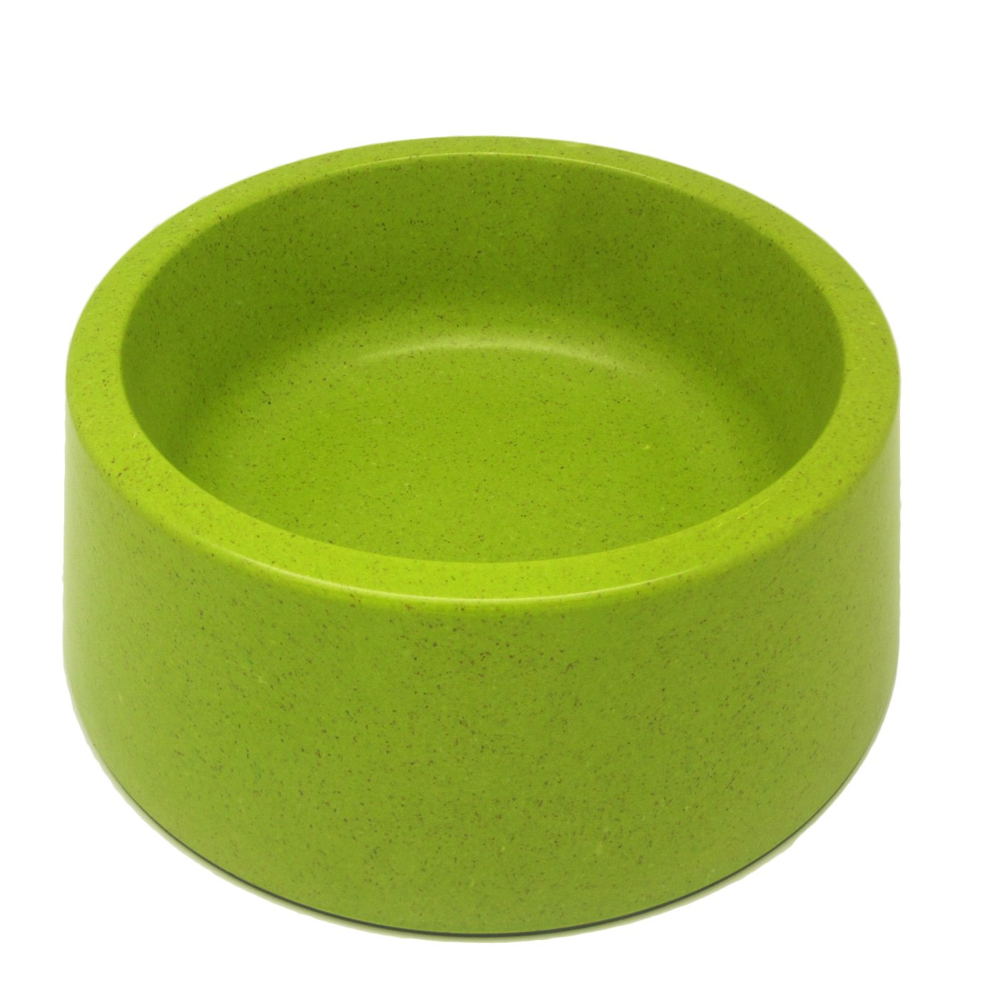 Alfie Pet by Petoga Couture - Kima Bamboo Fiber Eco-Friendly Pet Round Bowl (for Dogs & Cats) - Color: Green, Size: XL