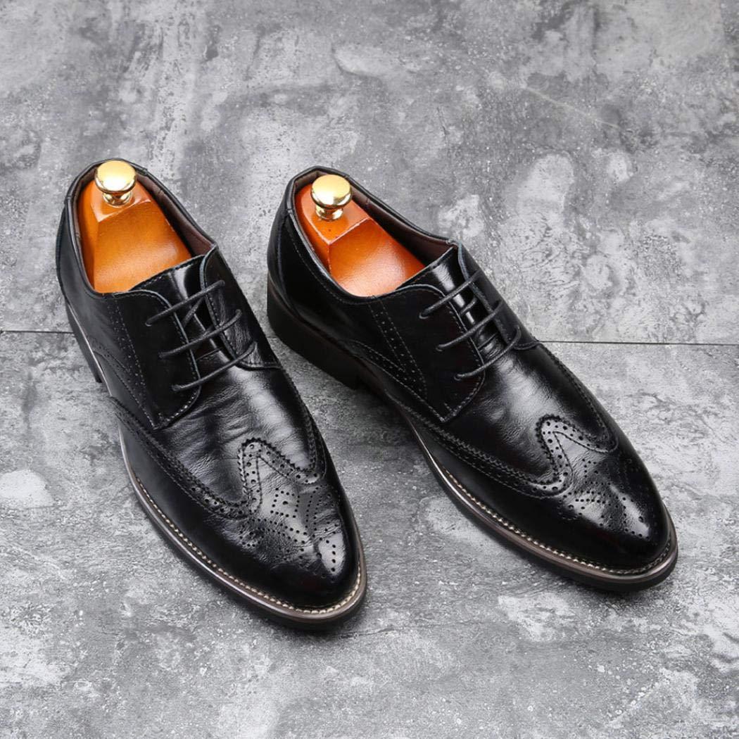 Soldes Homme Chaussures Richelieu Fauve Large en Cuir, Overdose Mode  Mocassins à Lacets Elégance Mariage 3e6d8c7a60d8