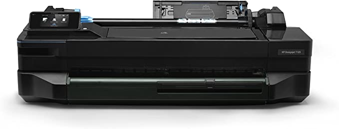 HP Designjet ePrinter T120 610mm - Impresora de Gran Formato (40 pph, 1200 x 1200 dpi, PCL 3, Negro, Cian, Magenta, Amarillo, 610 x 1897 mm, 10 cm): Amazon.es: Informática
