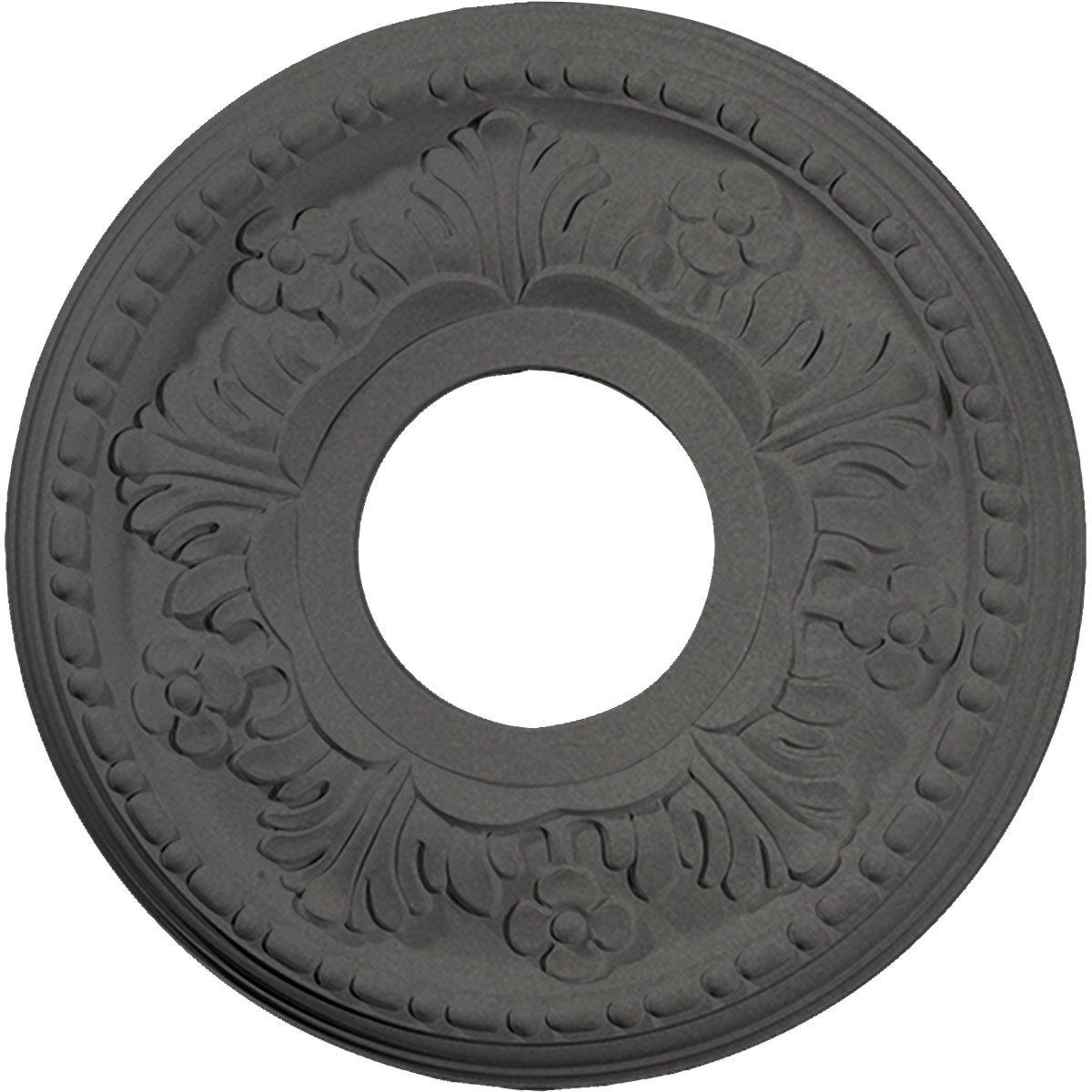 Ekena Millwork CM11HESGS Helene Ceiling Medallion, Steel Gray