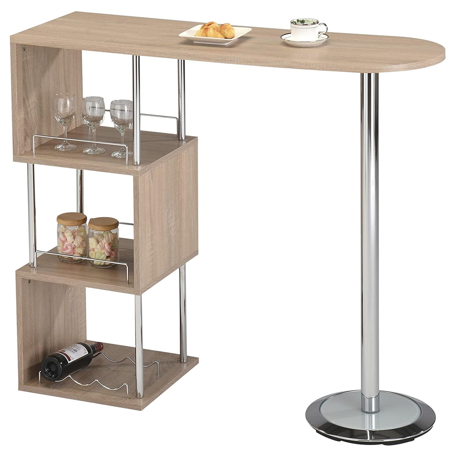 Meuble bar maison du monde free resto auto passion hyper - Amazon table de bar ...