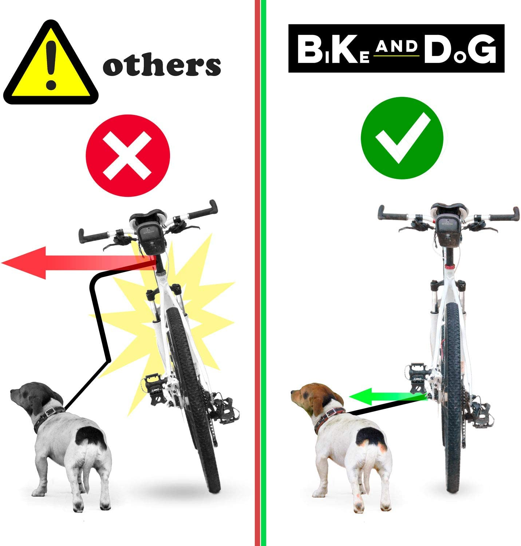BIKE AND DOG Correa ata sin Herramientas en el Eje de la Rueda ...