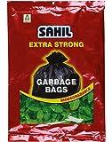 Sahil Extra Strong Biodegradable Garbage Bags (Medium) Size 20x26 (Black Colour) 30 LTR. 30 Pcs.