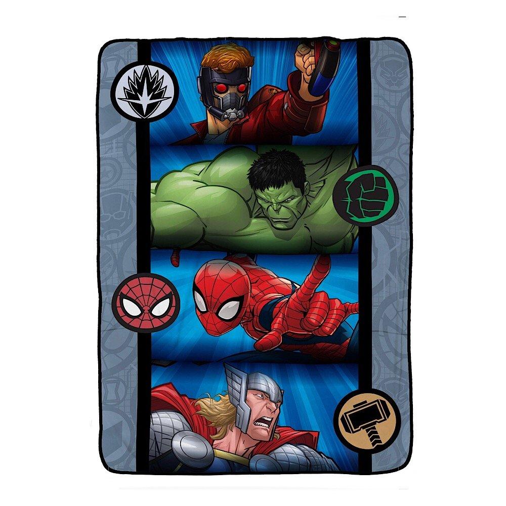 Marvel Avengers Blanket Full Size Kids Plush Bedding - 62'' x 90''