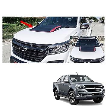 Mitsubishi L200 Triton on 2015 2016-17 Bonnet Hood Scoop V5 Cover Matte Black