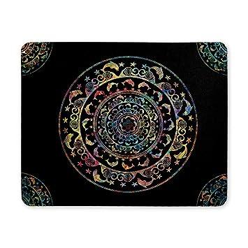 Plantilla circular Mandala Adorno Estrellas de delfines y ...