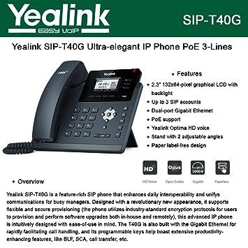 Yealink sip t41s ip phone amazon elektronik fandeluxe Gallery