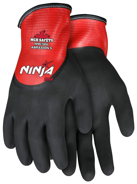 MCR Safety Ninja BNF Nitrile Gloves