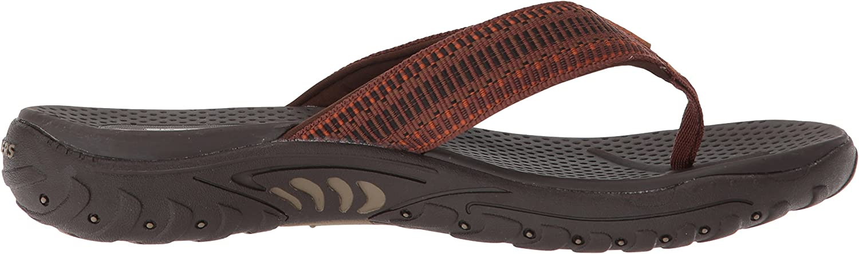 Coche Pavimentación Disfraces  Amazon.com | Skechers Men's Relaxed Fit-Reggae-Belano Flip-Flop | Sandals