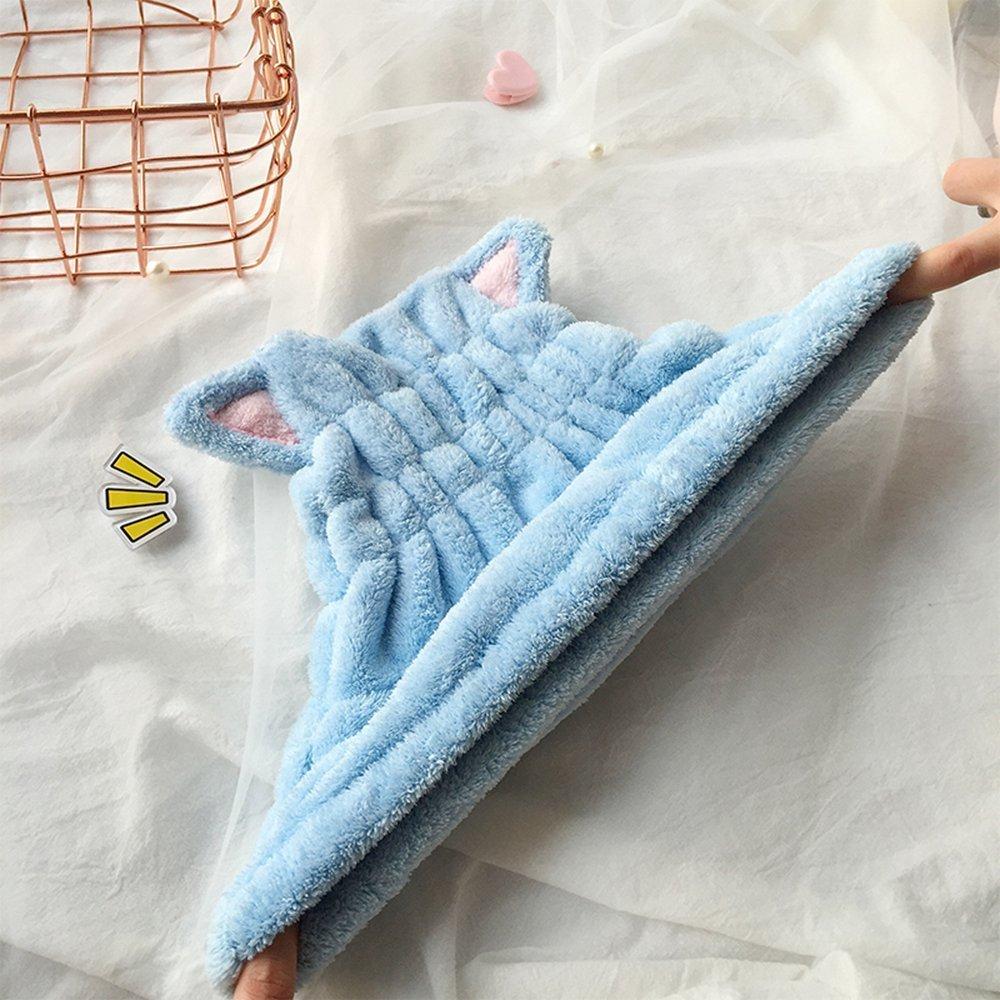 Toalla de baño de secado rápido para el cabello, toalla de pelo de secado rápido, toalla de baño para spa, natación, microfibra superabsorbente, ...