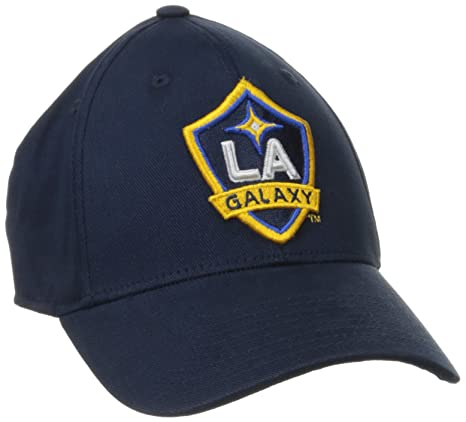 competitive price a5740 e6d75 Image Unavailable. Image not available for. Color  MLS Los Angeles Galaxy  Men s Basic Structured Flex Cap ...