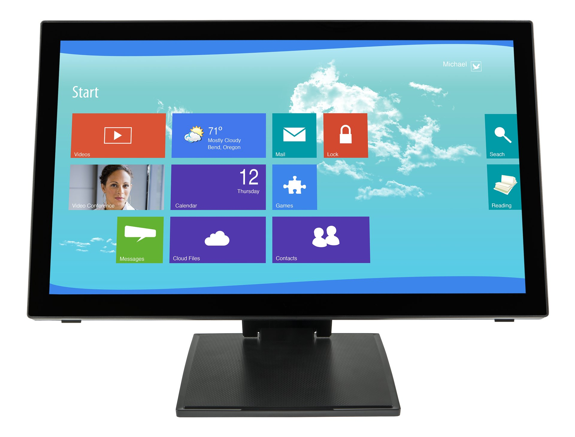 Planar PCT2265 997-7251-00 22-Inch Screen LCD Monitor