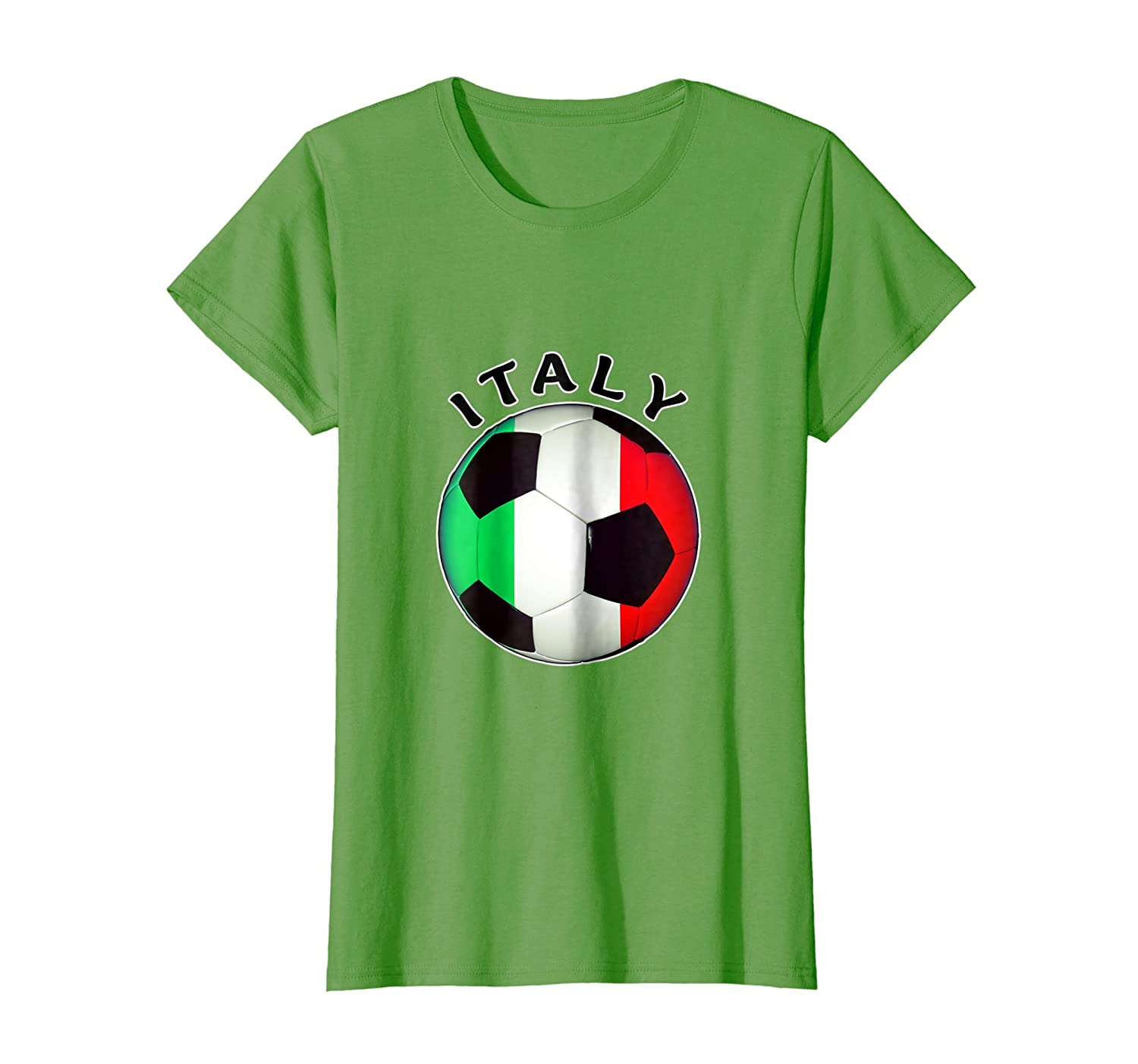 Amazon.com: Italian Soccer T Shirt- Camiseta De Futbol Italiano: Clothing