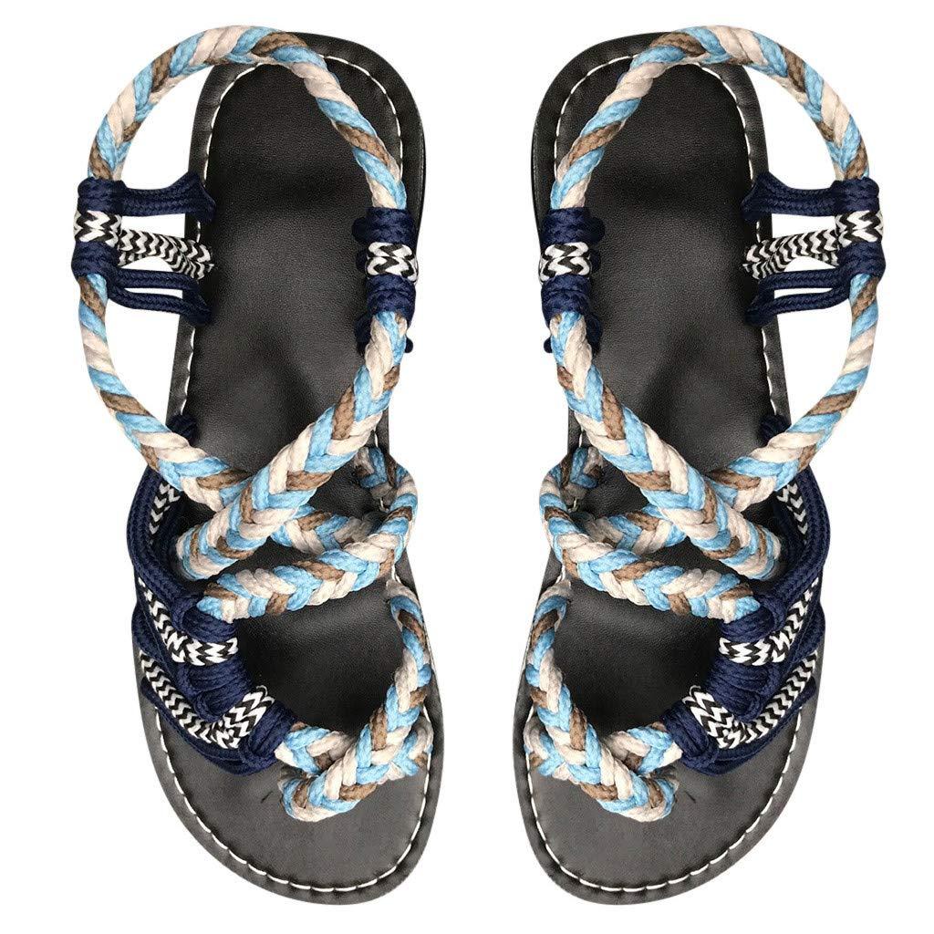 Womens Platform Sandals Casual Open Toe Espadrilles Sandals for Summer Ladies Sandal Shoes Summer Beach Travel Shoes
