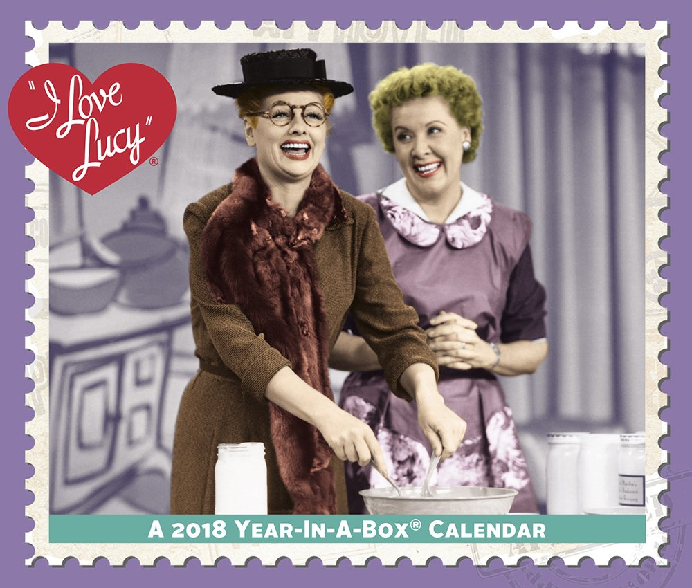 2018 I Love Lucy Calendar (Year-In-A-Box) pdf epub
