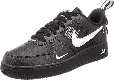 Amazon.com: Nike Air Force 1 '07 LV8 Utility Negro AJ7747 ...