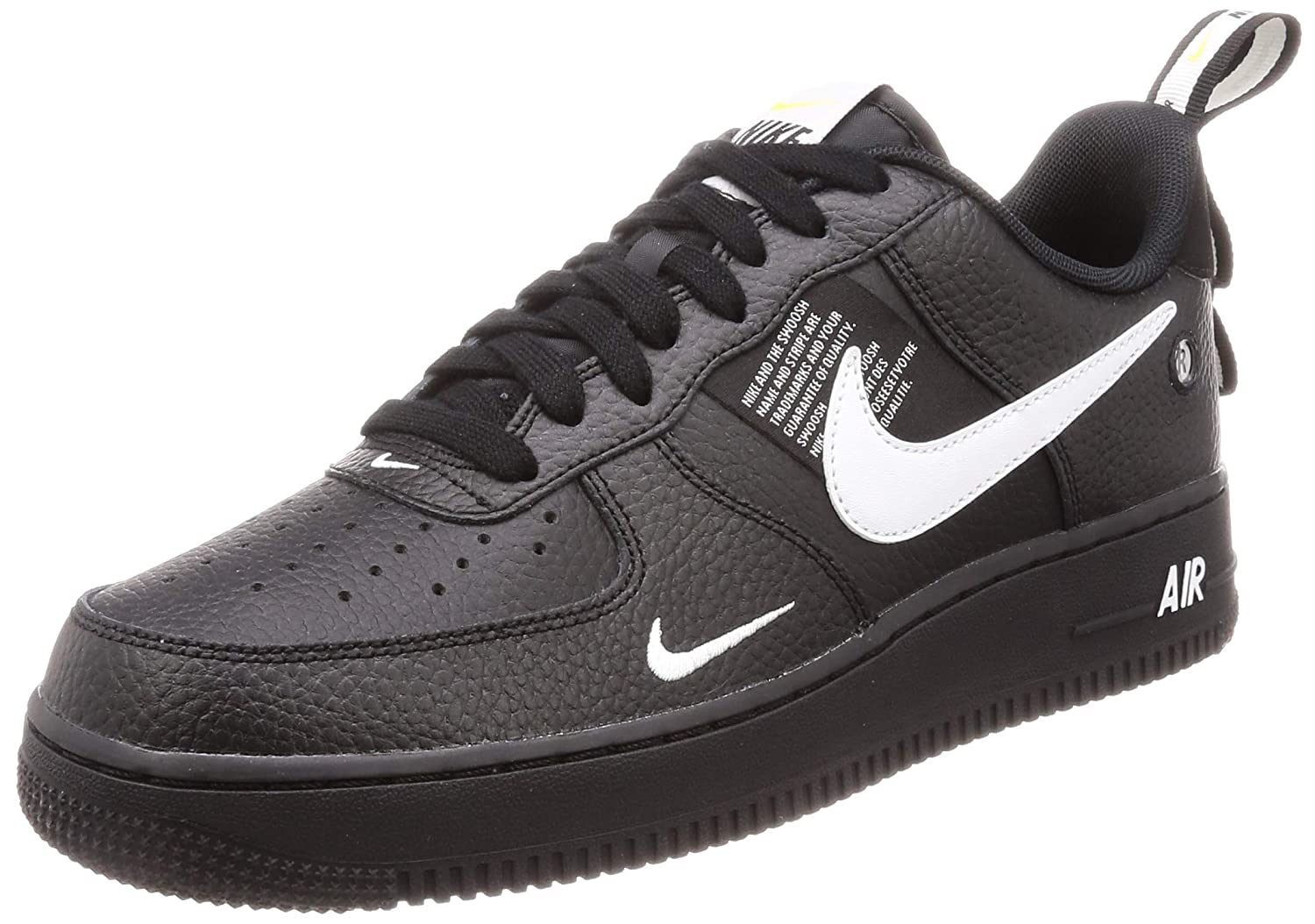 huge selection of be857 66cde Nike Herren Air Force 1  07 Lv8 Utility Gymnastikschuhe weiß schwarz   Amazon.de  Schuhe   Handtaschen