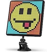 Divoom Pixoo-Max wielofunkcyjna cyfrowa ramka na zdjęcia, 32 x 32 programowalny wyświetlacz LED do pokoju, dekoracja…